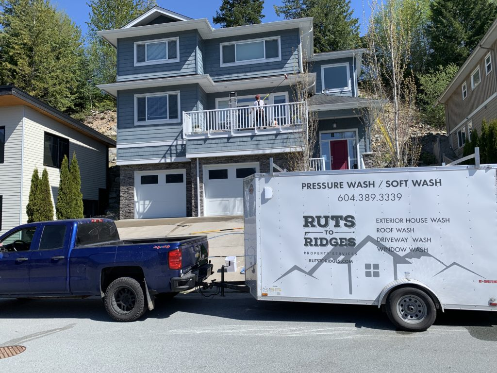House Washing West Vancouver
